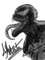 Venom Mouse Sketch by Virus-91