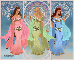 GoddessMaker: the Graces (Charities) by Saphari