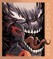 Spiderman 2099 by lorddeimons