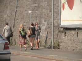 barefoot street 3 of 3 dirty soled hippe by barefootgirls1