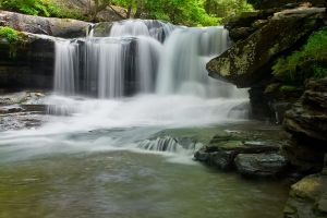 Dunloup Creek Falls by LAlight