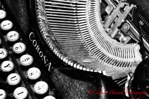 Corona Typewriter by cehavard90