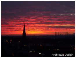 Sunrise In Plymouth by costeele