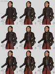 armour painting process by adelruna