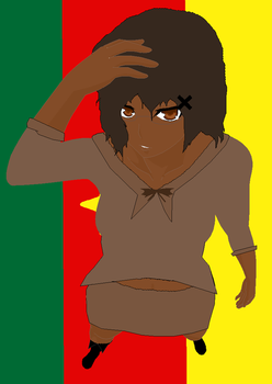 APH Fem Cameroon by Demonically-Adorable