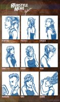 Hairstyle Meme- Ana by Yubria