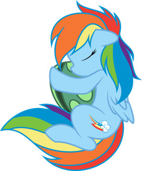 My Little Dashie by abydos91