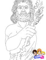 Zeus 2 by Writer-Colorer
