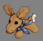 Bruce the Moose by PonyBytes