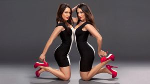 Bella Twins Black and White 2 by TheSm00thCriminal