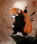 Red Panda by ArdentMind