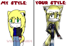 Wilma The Wolf style meme by anubist-the-cat1