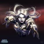 Ghost Widow Playstyle Illustration by DNA-1
