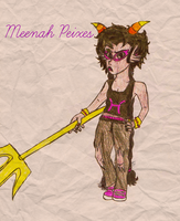 Meenah Peixes by TheBloodInk