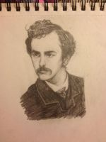 John Wilkes Booth by owlstorm14
