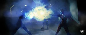 Mass Effect 2 Azari fight by BlackAssassiN999