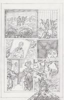 Son Chasers Page 8 Pencils by KurtBelcher1