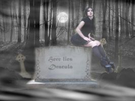 Draculas Grave by lifizzell