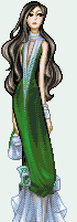 Mermaid Gown by zipple