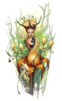 Queen Titania by AniaMohrbacher