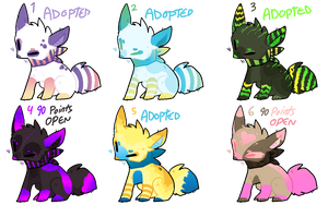 Fox Batch 5: Gradient Theme [[OPEN, 1 left]] by CoffeeBeanFox