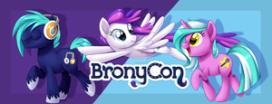 BronyCon 2014 - Banner by Centchi