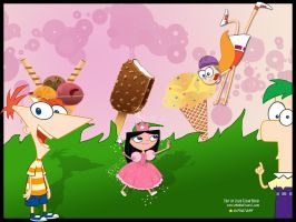 Phineas and ferb wallpaper by pdavida