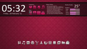 Simply Pink, Win 7 - 1st Try. by nlsanchez