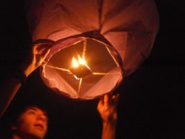 sky lantern by consciences