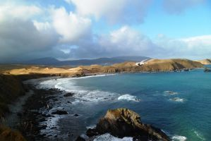 View From Bronze Age Light Fort by merearthling