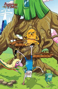 Adventure Time 23 Cover by IDComics