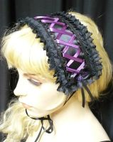 Gothic Lolita Headdress purple by Estylissimo