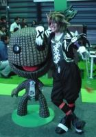 little big planet in halloween by cerezosdecamus