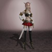 Lightning Returns FFXIII Lightning by ArmachamCorp