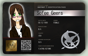 Sofee Geers HungerGames-RolePlay OC by Nami-Chan1999