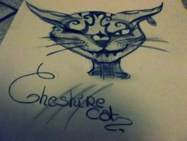 Drawing _ Cheshire Cat by AlicexLiddell