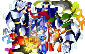 Megaman 3 all around by Nyaph