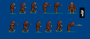 king kong spritesheet by CosbyDaf