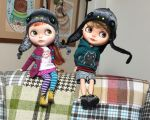 New dino hat for Blythe by iasio