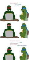 TMNT_Turtles On Turtlecest by DNLnamek01
