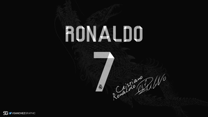 Cristiano Ronaldo Signature Kit by SanchezGraphic