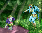 Commission - Dirty Jungle Trip by Pia-sama