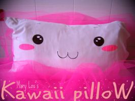 Kawaii Pillow by Here-is-MaryLou