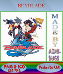 Beyblade - Anime icon by azmi-bugs