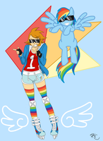 MLP - Rainbow Dash by Poefish