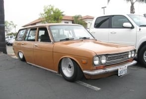 Nissan Bluebird Estate Lowered Stance by granturismomh