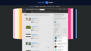 EverFree Radio's redesigned YT Channel by Charleston-and-Itchy