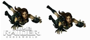 Tomb Raider Underworld Icons by SolidAlexei