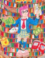 Emily Brooksworth (The Bookworm) by Sketchman147