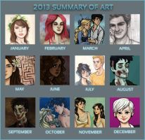 2013 Summary of Art by incredibru